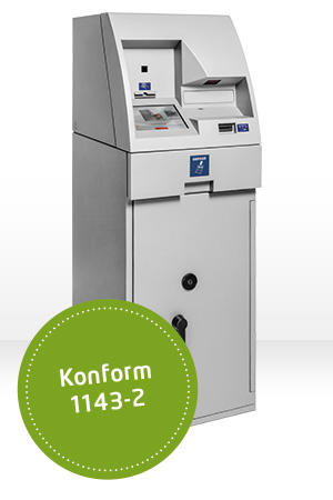 Deposit konform HESS Cash Systems